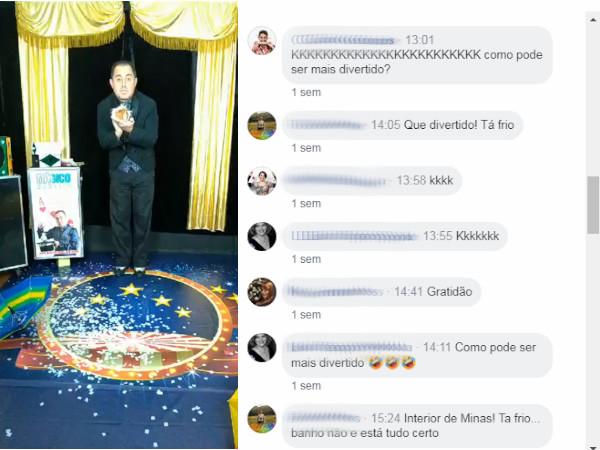 Show do Mágico Marcelo Kruschessky - Live no Facebook
